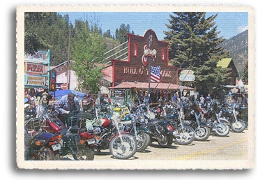 Red River, New Mexico is completely transformed from a sleepy little town in New Mexico's Southern Rocky Mountains to a bustle of activities when more than 30,000 bikers arrive each year for the Red River Memorial Day Weekend Motorcycle Rally